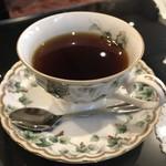 CAFE 森乃談話室 - アメリカンコーヒー  カップはナルミ