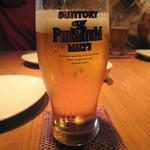 チキン プレイス - 生ビール