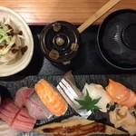鮨と日本酒の奢酌楽 - 上にぎり(¥1,800)