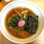 自然派ラーメン処 麻ほろ - あっさり醤油_750円