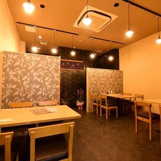 温かな雰囲気が◎落ち着く店内でお寿司に舌鼓