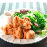 国産鶏のグルテンフリー唐揚げ