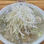 中華そば 伊藤商店 - 白のねぎ中華そば大盛➕煮玉子でやす