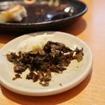 博多一幸舎 - 料理写真:高菜や生姜◎