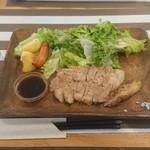 グリルSumitoko - 福岡県産四元豚のグリルステーキ