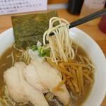 麺屋十郎兵衛 - 麺リフト(細麺)