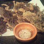 首里食堂 - もずくの天ぷら