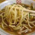かわせ  - 麺は極太で固めです