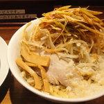 ラーメンとスタミナ丼 直成 - ネギラーメン(冷やし)