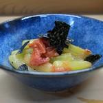 家庭料理 小川 - 蕗梅和え