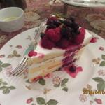 Kitahamaretoro - ベリー山盛りケーキ