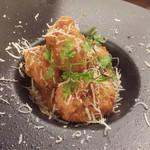 創作うどんダイニング ゴカン - オマールソースの蟹クリームコロッケ