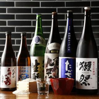 利き酒師が厳選した純米酒夏酒各種入荷しました!