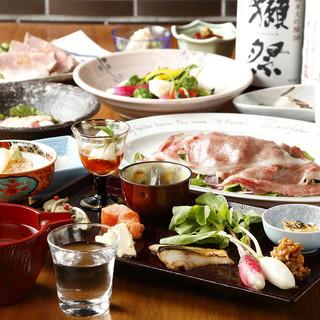 純米酒と料理のペアリング