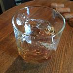85645121 - マルスウイスキーの越百(コスモ)ロック¥500