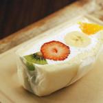 デリカ&カフェ ファイブミニッツミーツ - まるでケーキなフルーツサンド