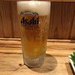 ラーメン&居酒屋やんきもん - 生ビール