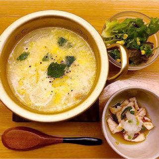 オープン記念◆唐揚げ食べ放題付きランチ!カフェメニューも人気