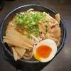 麺喰 - 料理写真:豚煮込み汁あり メンマトッピング