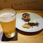 薫滋囉 - ビールとお通し