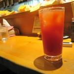 楽居 - トマト酢チューハイもどき(笑)
