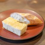 オステリア イタリアーナ コバ - バゲット ローズマリーのフォカッチャ