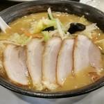幸楽苑 - 味噌チャーシュー麺