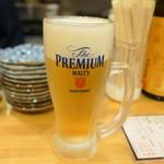 立ち飲み大松 - ビール450円