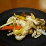 Sai - アオリイカの炒め物