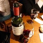エイコーン - タラパカ カベルネソーヴィニョン赤ボトル2,500円+税