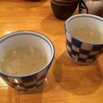 小江戸 オハナ - まずはスープが
