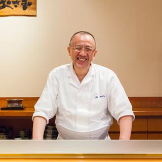 武藤修氏(ムトウオサム)─鮨への溢れる情熱と信念