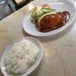 レストラン イト - 料理写真:チキンカツ('18/05/11)