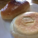 ほのパン - クリームパン 筍とチーズのおやき