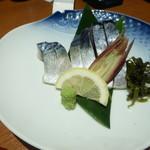 日本酒スローフード にいがた方舟 - 鯖の昆布〆