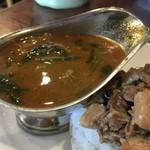中華料理 八戒 - マトンボール煮込みカリィ