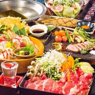 宴会コースは各種飲み放題付き3000円~