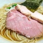 亀戸煮干中華蕎麦つきひ - 中華蕎麦 750円