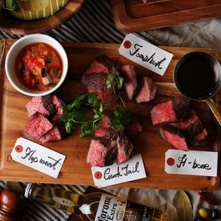 グリル肉料理をカジュアルに堪能