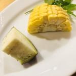 どんつき左 - ジューシー生野菜