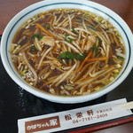 かばちゃん家 松栄軒 - 料理写真:もやしそば
