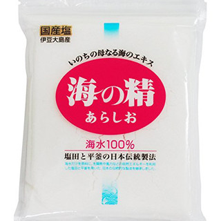伊豆大島の塩使用