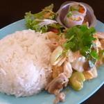 タイごはん屋 ナムチム - 豚バラと野菜タイスキソース炒めご飯大