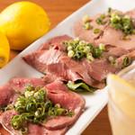 肉専門 大衆酒場 トロット - 牛刺し3種盛り