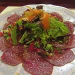 洋食イノツチ - 和牛カルパッチョ