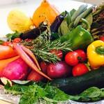 レストラン アオヤマ - 茨城の契約農家から届く新鮮な野菜をたっぷり召し上がれ!