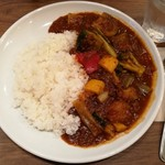 Meat & Wine イタリアンバールDari - 平日ランチ限定 グリル野菜カレー