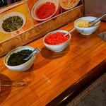 インド料理 サマン - 漬物