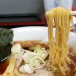 盛運亭 - 啜り心地のいい中華麺