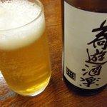 総本家更科堀井 - 蕎麦ビール